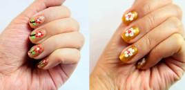 Si ti bëjmë thonjtë me design lulesh